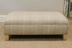Brompton footstool, Grandwood Furniture, West Sussex