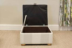 Storage footstool, Grandwood Furniture, West Sussex